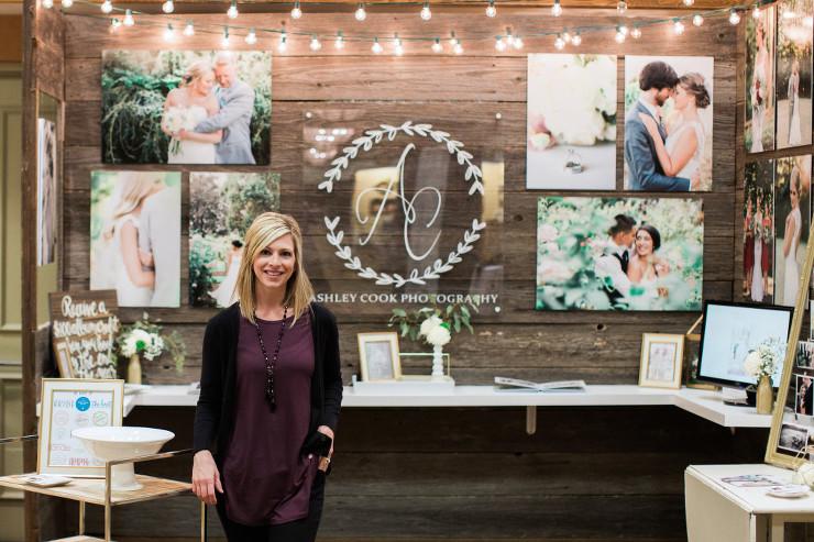 Wedding Expo Booth: Oregon Wedding Showcase Bridal Show Booth: Oregon Wedding